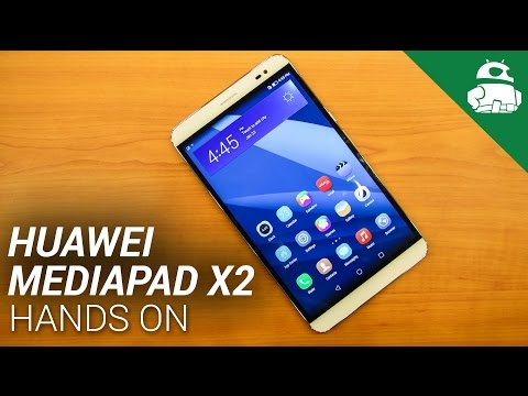Huawei Mediapad X2 Hands On