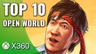 Top 10 Open World Games for Xbox 360