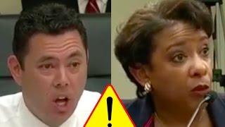 Jason Chaffetz Stunned Loretta Lynch Won't Answer Basic Questions About Law!