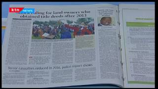 These are the 3 million land titles issued by the Jubilee Government now declared illegal