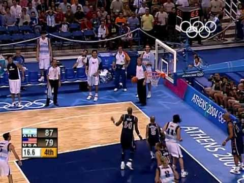 Download Argentina Shock USA In Men's Basketball - Athens 2004 Olympics HD Mp4 3GP Video and MP3
