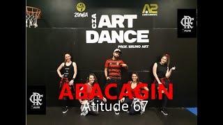 ABACAGIN   Atitude 67 | Zumba®️ | Coreografia | Cia Art Dance