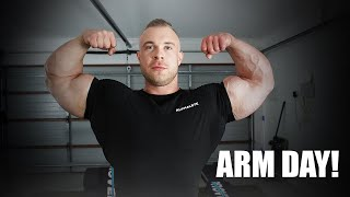 IVE NEVER BEEN TO A BODYBUILDING SHOW!? / TRICEP TIPS / ARM DAY