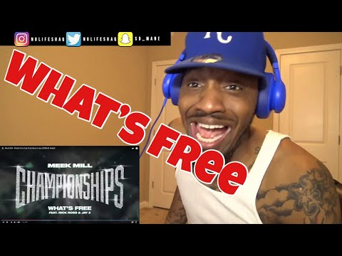 Meek Mill - What's Free feat. Rick Ross & Jay Z | REACTION