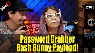 Password Grabber Bash Bunny Payload - Hak5 2305