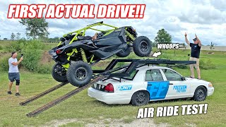"""Taking the Freedom Factory """"Unit Transporter"""" On Its First Test Drive!!! (IT DOES WHEELIES)"""