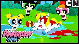 Das Spiel mit dem Einhorn   Die Powerpuff Girls Deutsch   Cartoon Network