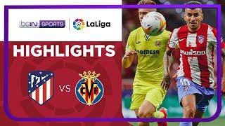 Atletico Madrid 2-2 Villarreal Matchday 3