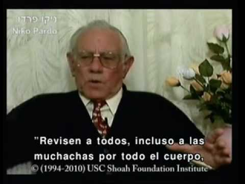 Niko Pardo, sobreviviente del Holocausto de Monastir, Macedonia habla sobre el fin de la comunidad judía