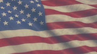Hipster American Flag - HD Video Background Loop