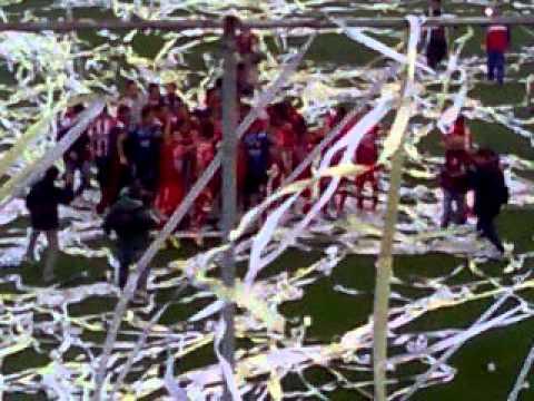 """""""Recibimiento Tatengue vs Sarmiento de Junin"""" Barra: La Barra de la Bomba • Club: Unión de Santa Fe"""