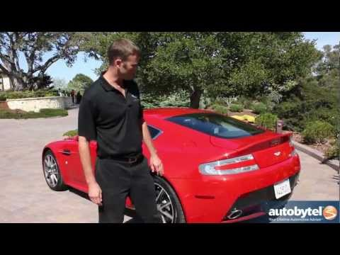 2012 Aston Martin V8 Vantage Walkaround Video