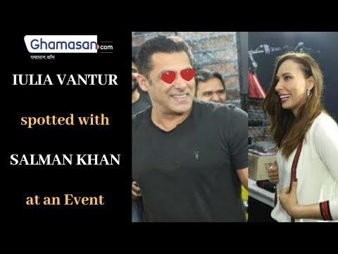 Salman Khan, Iulia Vântur, Spotted in a Fitness Event with Arbaaz Khan