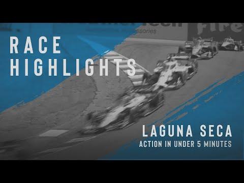 インディーカー第15戦 モントレー・グランプリ 決勝レースの5分ハイライト動画