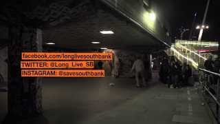 preview picture of video 'Nick Jensen on the Southbank Undercroft pt 1'