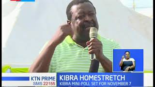 Mudavadi camps in Kibera as he campaigns for Owalo
