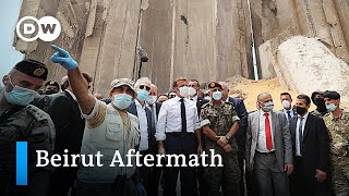 Anti-government protest in Beirut   DW News
