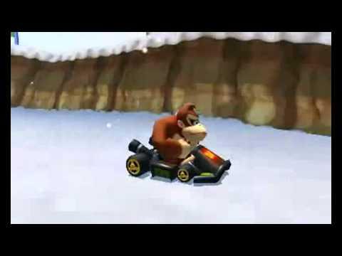 Видео № 1 из игры Mario Kart + Руль (Б/У) [Wii]