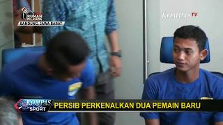 Persib Bandung Perkenalkan Dua Pemain Baru