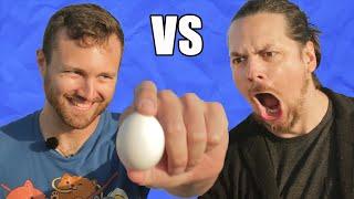 EGG DROP - Arin Egoraptor vs William Osman