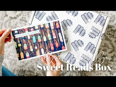 Sweet Reads Box Unboxing: Beach Reads Box June 2021