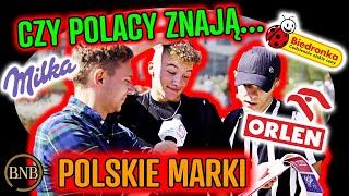 Wielki test Polaków – czy znają POLSKIE marki?