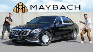 [Throttle House] NEW $400,000 Mercedes-Maybach S650 Review // Insane Luxury Meets Maximum Security