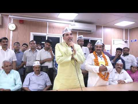 AAP Delhi Convenor Gopal Rai Addresses Party Volunteers Post Bawana Victory