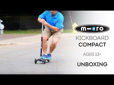 Kickboard Compact Scooter Unboxing | by Micro Kickboard