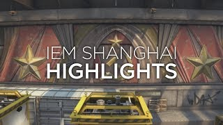 IEM Shanghai highlights