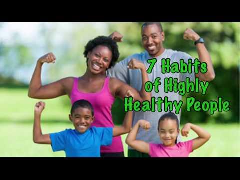 7 Habits of Happy Healthy People