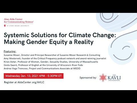 Gender & Climate,