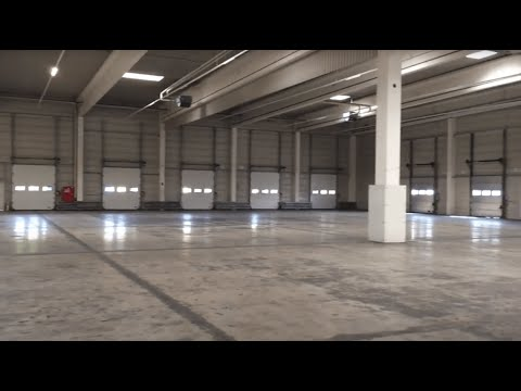 Die neue Lagerhalle der Connox GmbH