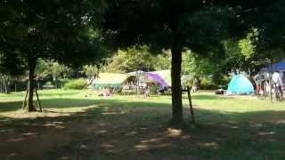 ふれあいキャンプ場のイメージ