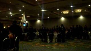 Hunter ArmyAirfield Feb 11th 2010 Military Ball..toast to the fallen