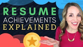 Resume Achievements  -  How To Write Achievements In Resume
