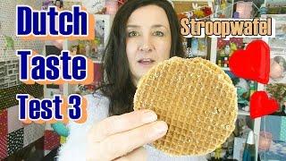 Dutch Taste Test 3 Netherlands Candy