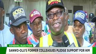 Sanwo-Olu's former colleagues pledge support for him