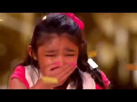 Angelica Hale: 9-Year-Old Earns Golden Buzzer From Chris Hardwick - America's Got Talent 2017