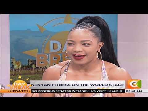 DAY BREAK   IFBB Women's winner Evelyn Owala on how she got into body building