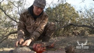How to Make Deer Heart Tacos in the Field with Steven Rinella - MeatEater
