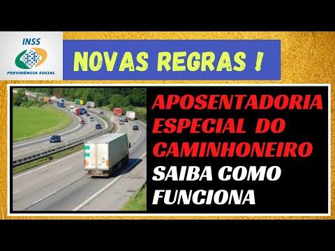 INSS - APOSENTADORIA ESPECIAL  -  DO CAMINHONEIRO