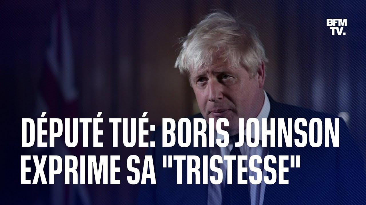 """Député britannique tué: Boris Johnson exprime son """"choc"""" et sa """"tristesse"""""""