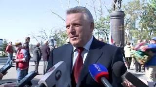 Памятник Маршалу Василевскому открыли в Хабаровске