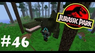 Обзор Мода Minecraft Динозавры! Парк Юрского Периода! (LotsOMobs) № 46
