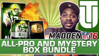 Madden 16 Ultimate Team BEST ELITE PULL | All Pro Pack & Mystery Box Bundle