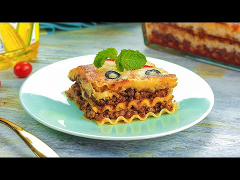 Lasagna Recipe | Beef Lasagna Recipe By SooperChef