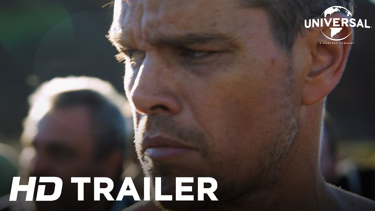 Watch The First Full Trailer For Jason Bourne