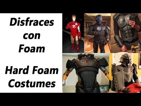 Disfraces con Foam / Hard Foam Costumes