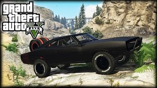 EPIC FAST & FURIOUS 7 OFF-ROAD DODGE CHARGER! (GTA 5 PC Mods)
